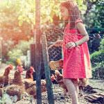 The secret to make farm chores fun for children